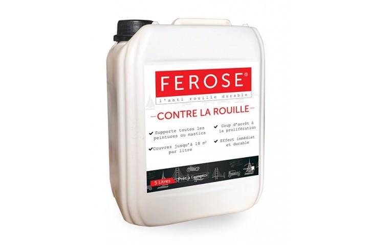FEROSE - TRANSFORMATEUR DE ROUILLE 5 LITRES