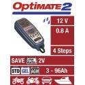 CHARGEUR de batterie OPTIMATE 2 100% Automatique