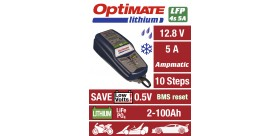 CHARGEUR de batterie OPTIMATE Lithium 100% Automatique