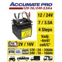 CHARGEUR 12/24V commutable ACCUMATE Pro