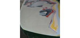 Mastic polyester pour la finition