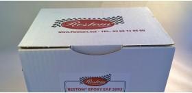 PEINTURE EPOXY EAF 2092 ROUGE KIT PISTOLET 1L